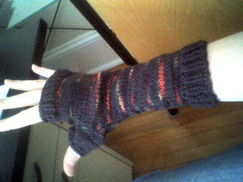 Mirasol fingerless gloves
