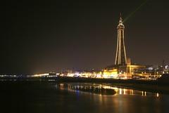 Blackpool Tower Illuminations & Laser