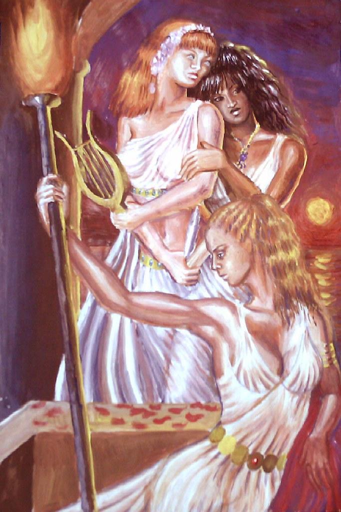 Korinna Erinna si Sappho