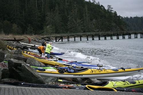 Bowman Bay lauch
