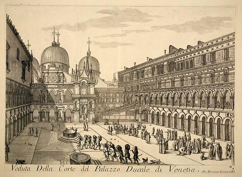 002-Vista del Palacio Ducal de Venecia