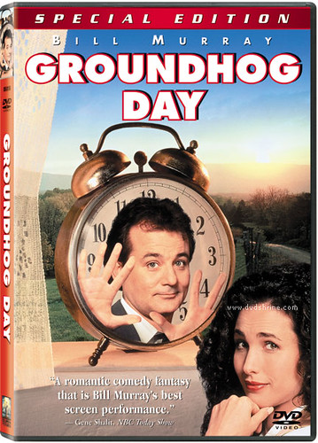 今天暫時停止/土撥鼠日 DVD 封面