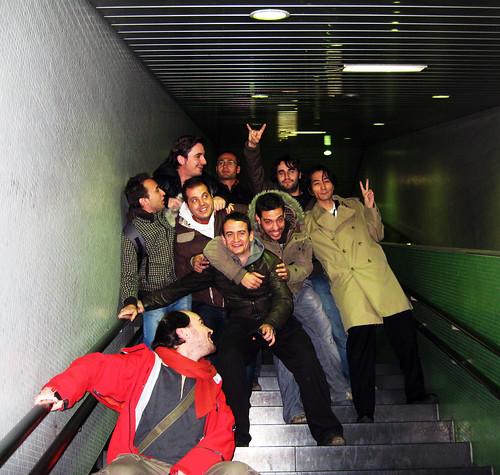 tsunami en el metro