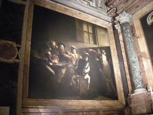 caravage, rome, saint louis des français