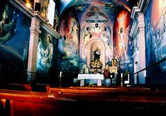 colorful (Abe Aldana) Tags: old teatro candles arte religion jesus iglesia altar virgin santos sanmigueldeallende zacatecas catolica viejo virgen nazareth catolico rezo theather rezar trofeo rinconderomos