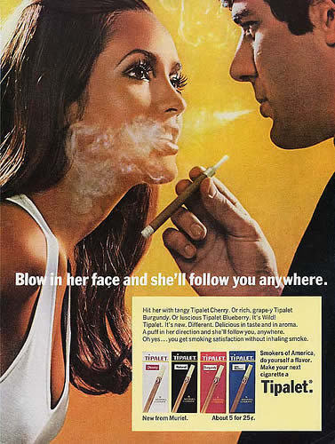 Vintage cigarette ad by ewm04.