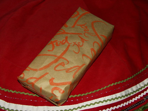 Christmas wrapping paper 2008