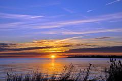 Bluesky sunset Dragoer, Denmark (OrangUtanSam) Tags: sunset sky cloud sun clouds denmark dragør skies copenhagenairport øresund dragoer redskies oeresund