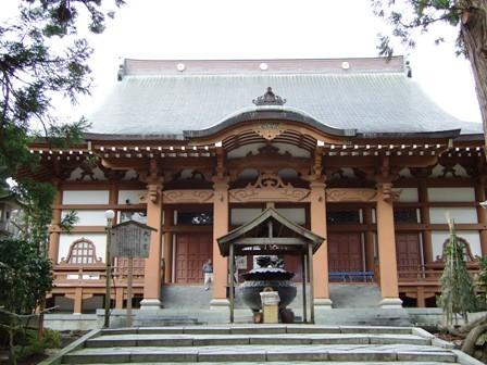 乙宝寺~本堂