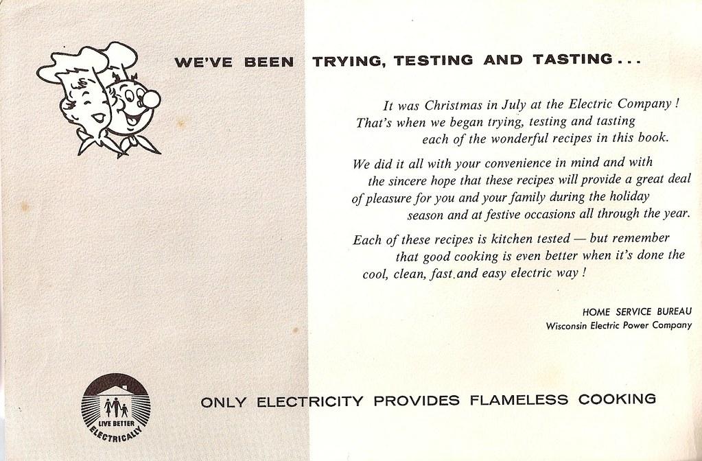 Christmas Cookies, 1960