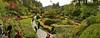 Sunken Garden Panorama