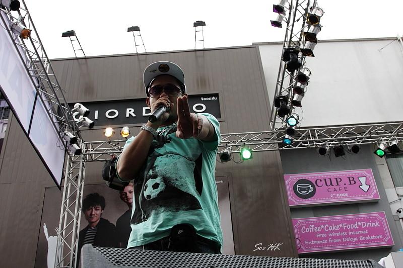 Joey Boy free Concert @ Siam Square, Bangkok Thailand