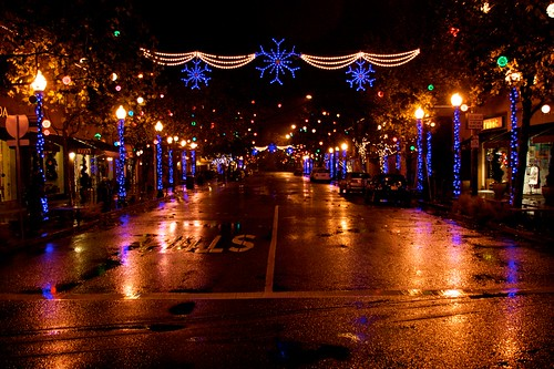 4th Street Lights