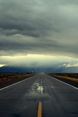 Headin' West (forty-onecrush) Tags: storm west rain clouds truck trucker again estrellas westward riggsroad inthemiddleoftheroad flickrsbest astatehwytrooperpastme riggsandqueencreek hejustwaved