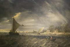 The Thunderstorm, 1641 (Maulleigh) Tags: art museum san francisco jan honor thunderstorm van legion the goyen