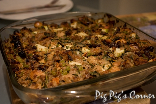 Apple, Sausages & Herbs Stuffing