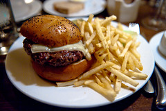 Burger (star5112) Tags: food dinner restaurant swiss burger best danville fries gigi dining