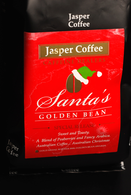 jasper coffee santa's golden bean© by Haalo