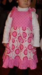 Christmas Dress... (My Baby Little Feet) Tags: gracie andalucia analise portabellopixie michaelmillerfabrics sandihenderson pattyyoung