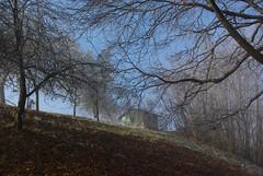 Casa nel bosco (Cristiano70) Tags: italy torino casa italia pentax neve nebbia montagna cristiano paesaggio bosco barbania canavese k200d levone mavar cristiano70 cristianomavar