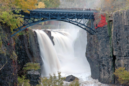 Great Falls, Passaic River, Patterson, New Jersey... if you think New Jersey is the armpit of America then you are worse than Hitler.