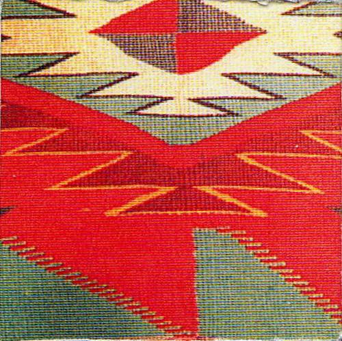 Navajo tapestry miniature