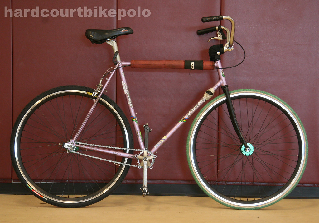 Angelo hardcourt polo bike full