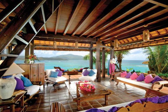 richard branson island house. Necker Island was discovered