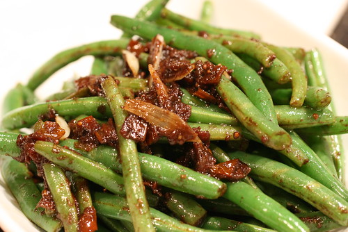 Sun Dried Tomato and String Beans