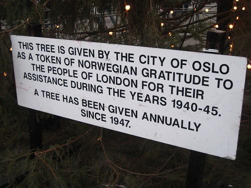 The Norway Spruce (Christmas Tree) @ Trafalgar Square