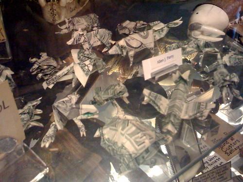 dollar bill artwork. One Dollar Bill Art