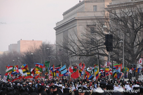 The Peace Corps Takes Over Pennsylvania Avenue