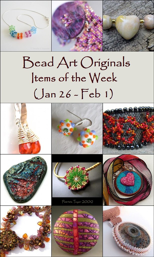 Bead Art Originals Items of the Week (1/26 - 2/1)