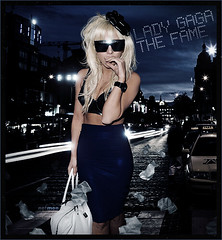 Lady Gaga - The fame (netmen!) Tags: face lady dance fame just poker gaga blend the netmen