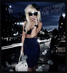 Lady Gaga - The fame (netmen!) Tags: face lady dance fame just poker gaga blend the netmen