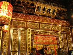 Khoo Kongsi (Karen_n) Tags: building heritage island temple golden karen historical penang goldentemple khookongsi nikone4100
