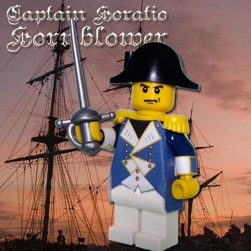 Captain Horatio Hornblower custom minifig