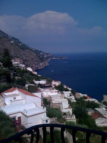 Utsikt från en av våra fyra terrasser