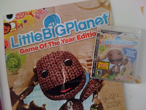 LBP packaging on wall