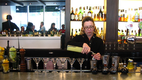 Head Bartender Rachel Sergi