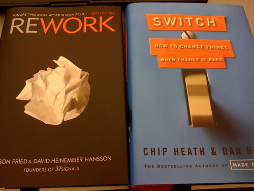 Current reading: 'Switch' & 'Rework'