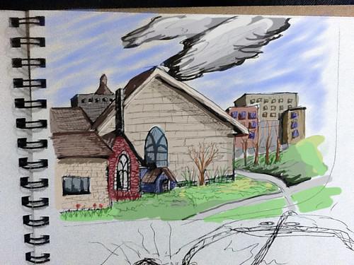 Middlebury Sketch