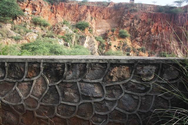 City Nature – Into a Mine, Gurgaon-Faridabad Road