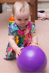 Ball (Craig Dyni) Tags: birthday baby girl madelyn alannah dyni