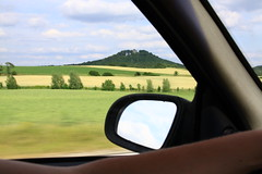 (:Linda:) Tags: car germany landscape mirror village spiegel thuringia inside fortress unterland straufhain