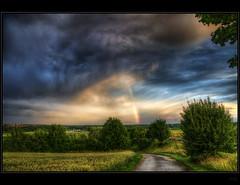 Somewhere under the rainbow (Kemoauc) Tags: sky rainbow nikon hdr d90 nikond90 kemoauc