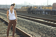 (aTROSSity 22) Tags: winter friends cute beautiful beauty fashion losangeles model downtown pretty gorgeous traintracks style trains actress stunning lovely radiant trainyard talented dazzling modelphotography atrossityphotography photosbytylerross meltdownshowphotographer tylerrossphotographer piggybackyard