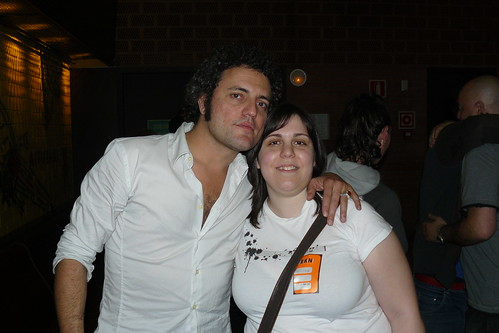 Carlos Tarque y yo
