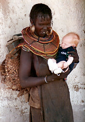 Pokot Woman with Photographer's Son