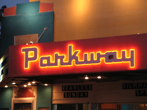 Parkway Marquee, Minneapolis, Minnesota, September 2007, photo © 2008 by QuoinMonkey. All rights reserved.